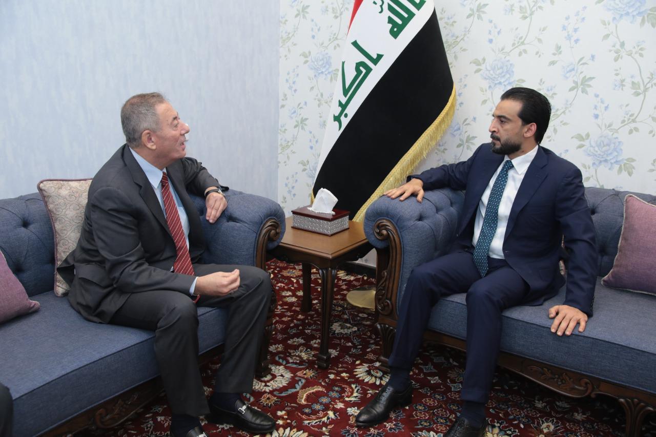 الحلبوسي يؤكد للزعبي حرص العراق على تعزيز العلاقات الاقتصادية مع الاردن