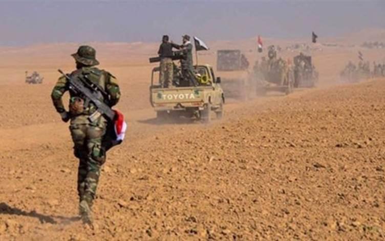 عمليات الأنبار للحشد تنفي تعرض قطعاتها لقصف جوي