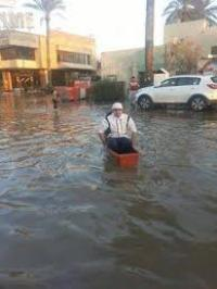 مياة الامطار في بغداد