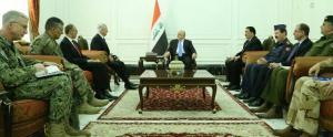 رئيس الوزراء لمايتس: نحن في اللحظات الحاسمة من تحرير مدننا ويؤكد ضرورة استمرار الدعم للعراق