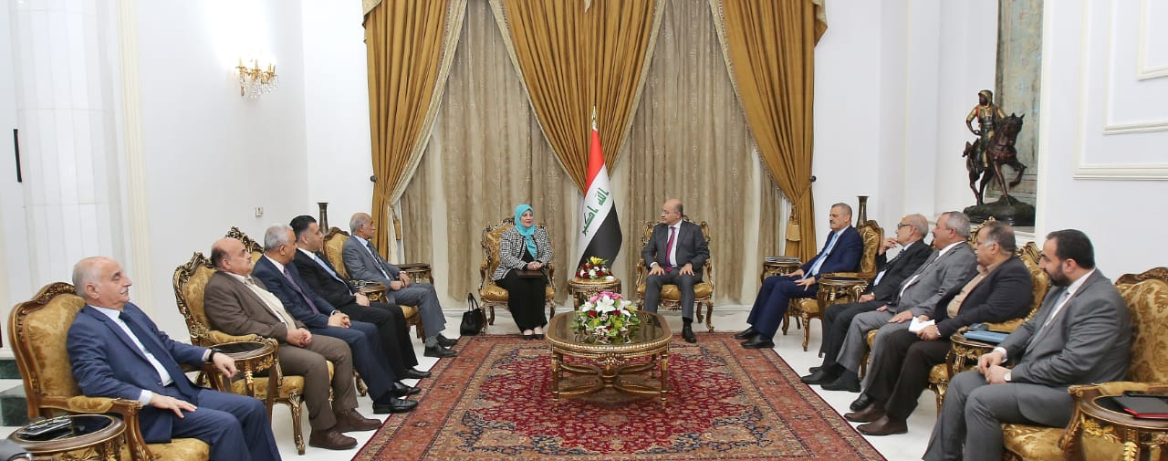 President of the Republic: the investment of engineering competencies in Iraq for the benefit of reconstruction Image