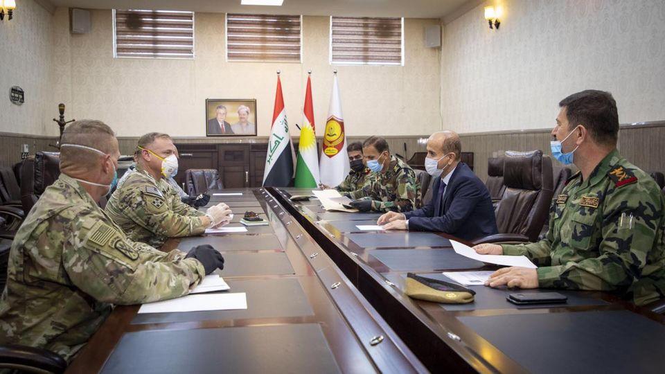 قائد التحالف الدولي مستمرون بدعم العراق في حربه ضد الارهاب