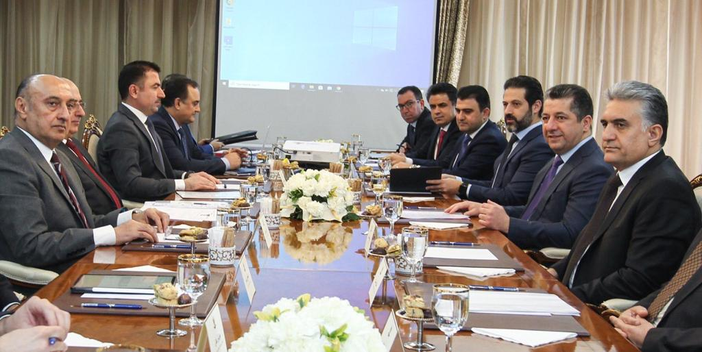 """كردستان تقرر تكثيف المباحثات مع بغداد لتجاوز """"الوضع الاقتصادي الصعب"""""""