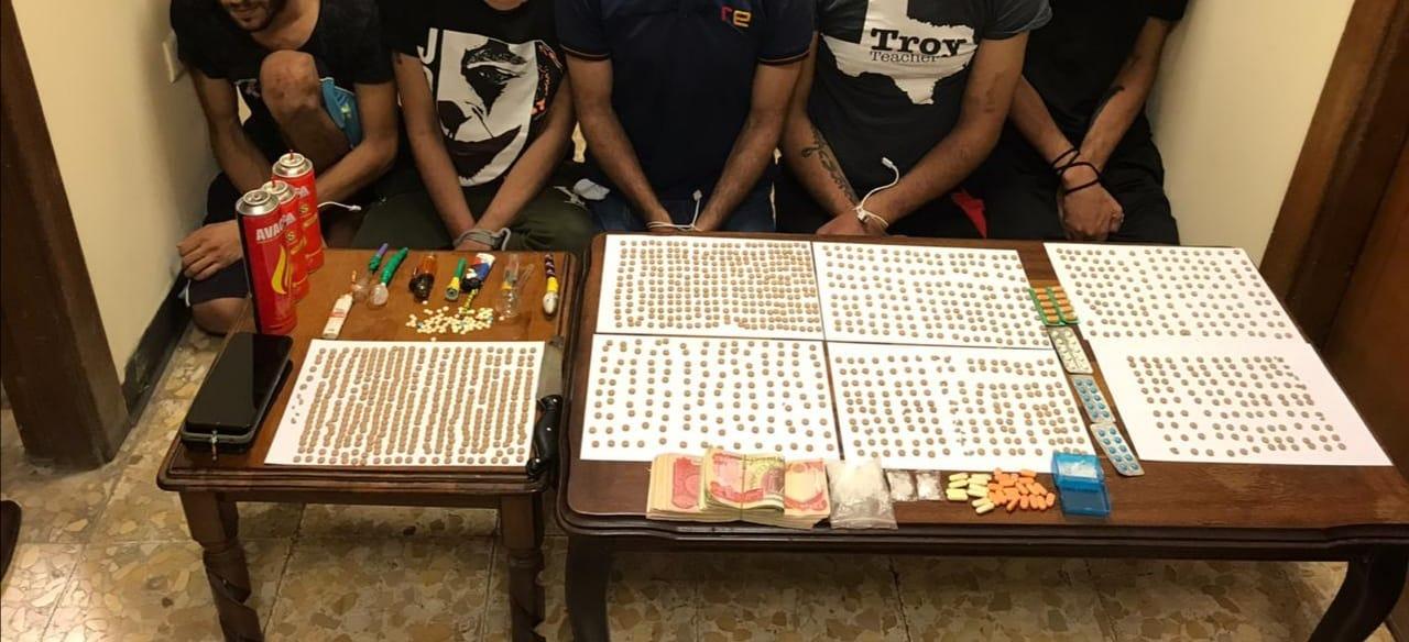 الاستخبارات تلقي القبض على اخطر عصابة لتجارة المخدرات في بغداد