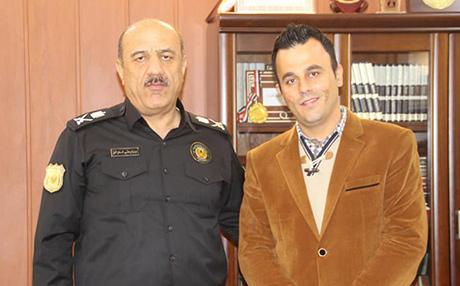 شرطي من السليمانية يتبرع بجزء من كبده لإنقاذ حياة طفلة