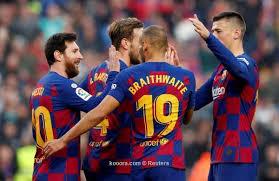 حسم مصير مباراة برشلونة ونابولي