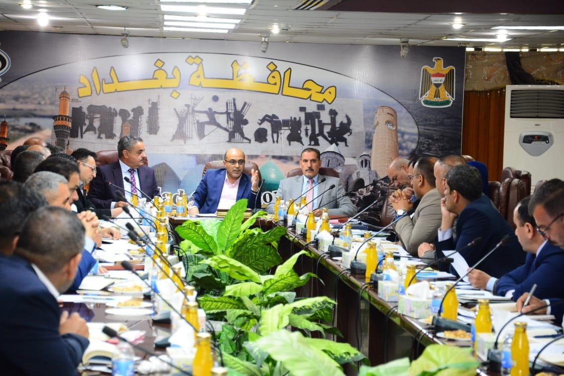 بغداد تعلن تشكيل خلية ازمة خدمية بالمشاريع المتلكئة والجديدة