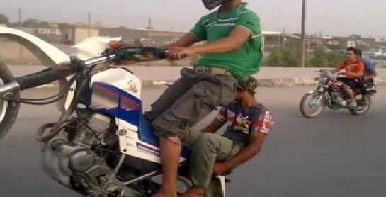 بسبب السرعة العالية  ..  مصرع طفلين واصابة اخرين في تصادم دراجتين ناريتين شمال شرق بعقوبة