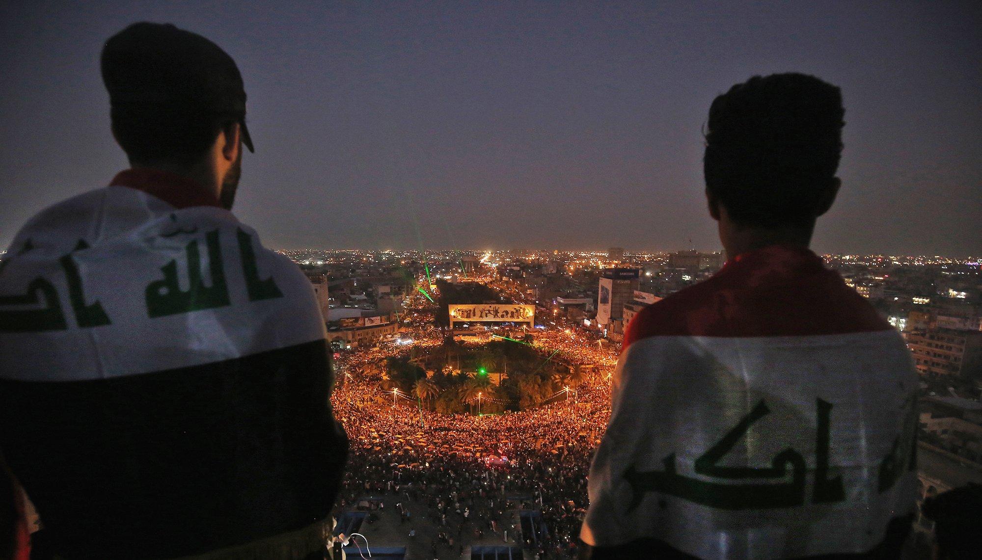 الدليمي: تظاهرات تشرين تاريخ جديد لن يتوقف حتى تحقيق كل المطالب