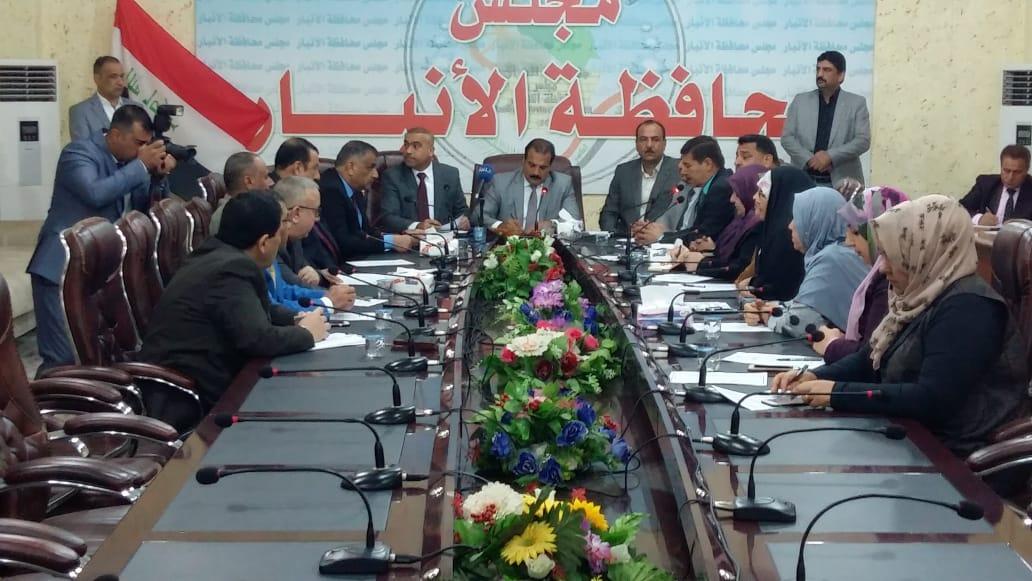 مجلس الانبار: الحكومة ستنصف جميع المصفرة رواتبهم في شرطة المحافظة