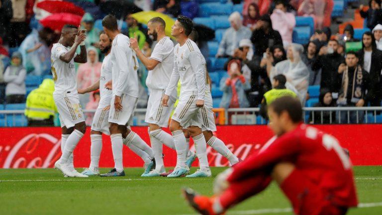 ريال مدريد يحقق فوزاً صعباً على ليفانتي في الدوري الاسباني
