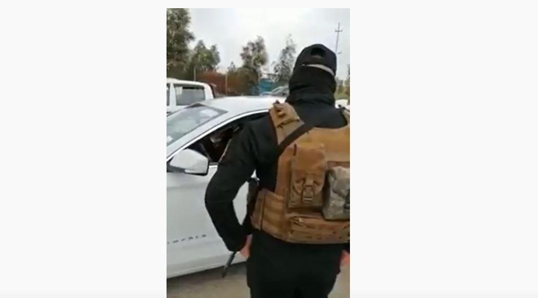 بالفيديو ..  برلمانية تشتم جندياً أثناء الواجب ..  والهاشمي يعتبر ان بعض البرلمانيين كشفت ألوانهم الحقيقية