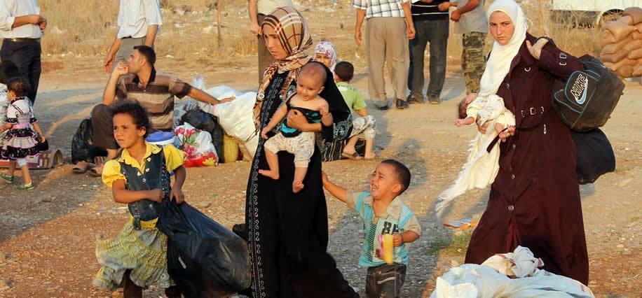 إرتفاع عدد النازحين من محافظة نينوى وقضاء الحوجية الى 107 الاف نازح