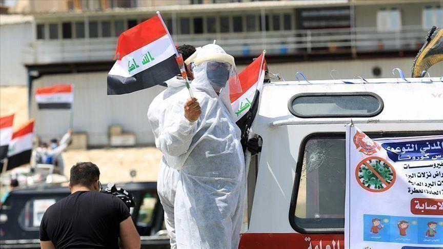 العراق يحتل المركز الرابع عربياً من حيث عدد الإصابات بفيروس كورونا