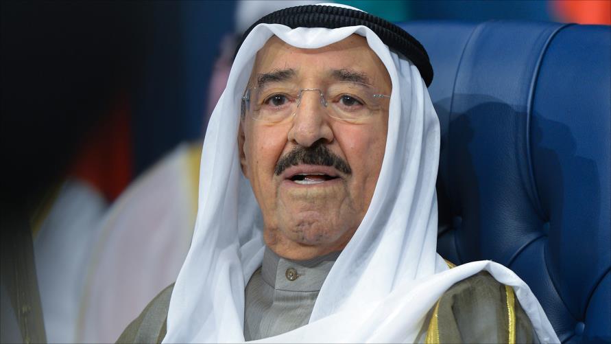 امير الكويت يصل بغداد في زيارة رسمية