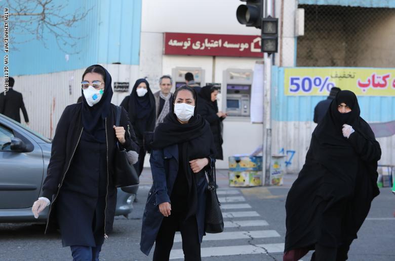 ارتفاع عدد الوفيات بفايروس كورونا في إيران إلى 2234