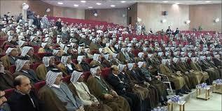 حكومة بغداد تثمن دور شيوخ العشائر في تعزيز المصالحة الوطنية وحقن الدماء وحل الاشكالات العشائرية