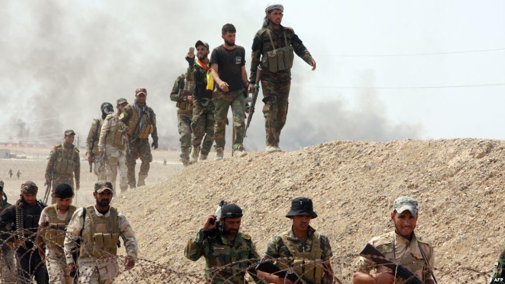 قوات الحشد تتقدم باتجاه تل كيصوم الذي يفصل قضاء تلعفر والموصل
