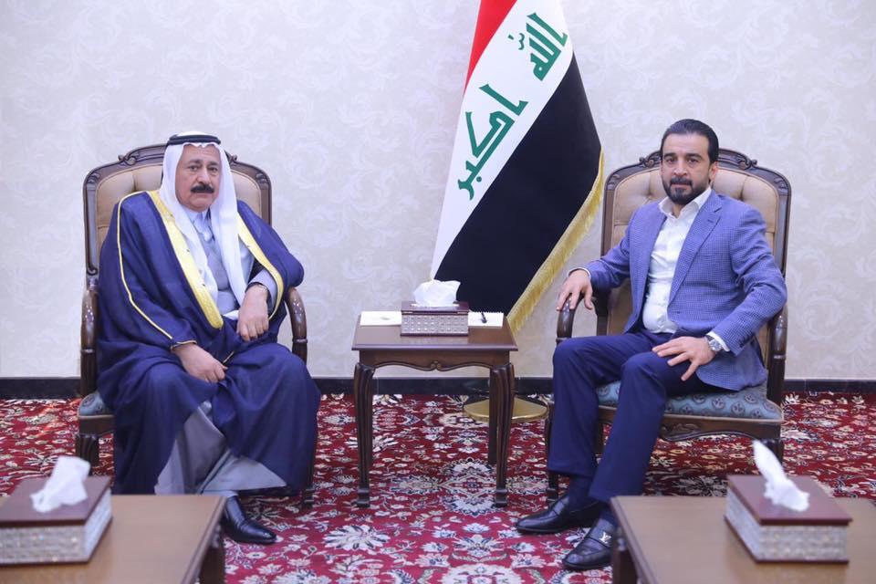 الحلبوسي يستقبل رئيس الجبهة العربية الموحدة في كركوك