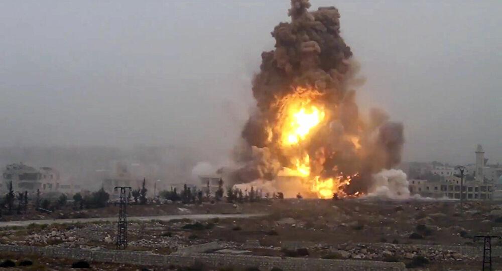 مقتل شخص بانفجار في مدينة صناعية وسط إيران