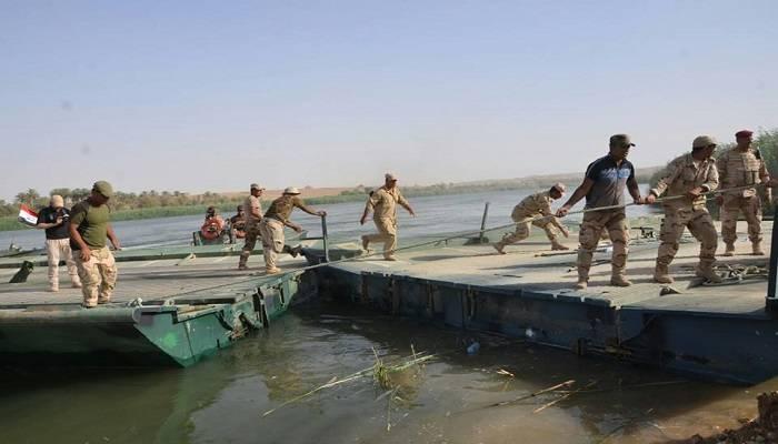 يارالله: جاهزون لنصب الجسور بين ساحلي الموصل للعبور