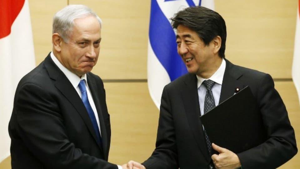 نتنياهو لرئيس وزراء اليابان: يجب كبح عدوانية إيران