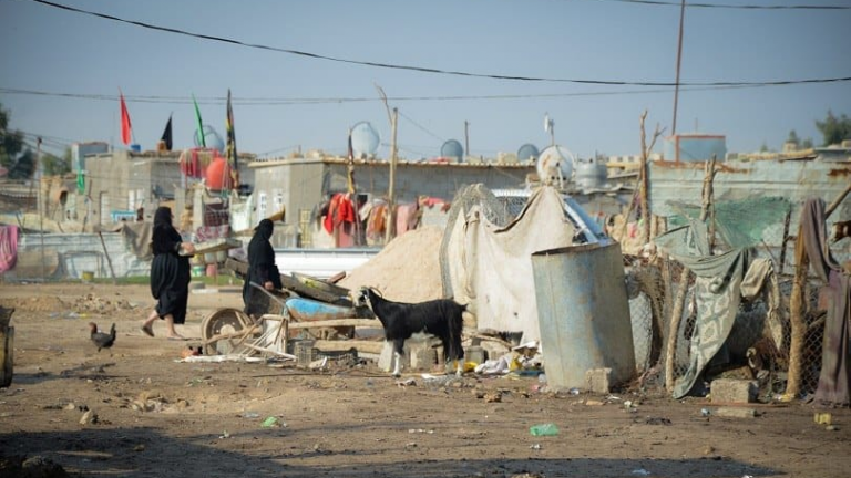 The crisis of slums is worsening and its population reaches 4 million Image
