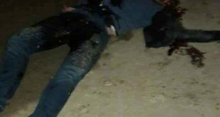 قتل مواطن في مركبته باطلاق نار من قبل مجهولين