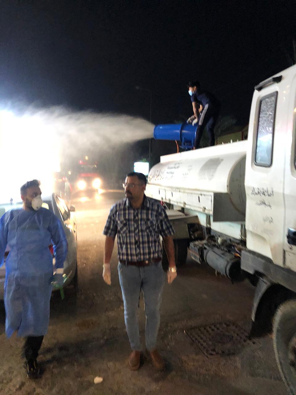 أمانة بغداد : ملاكاتنا صنعت جهازاً لتعفير الشوارع