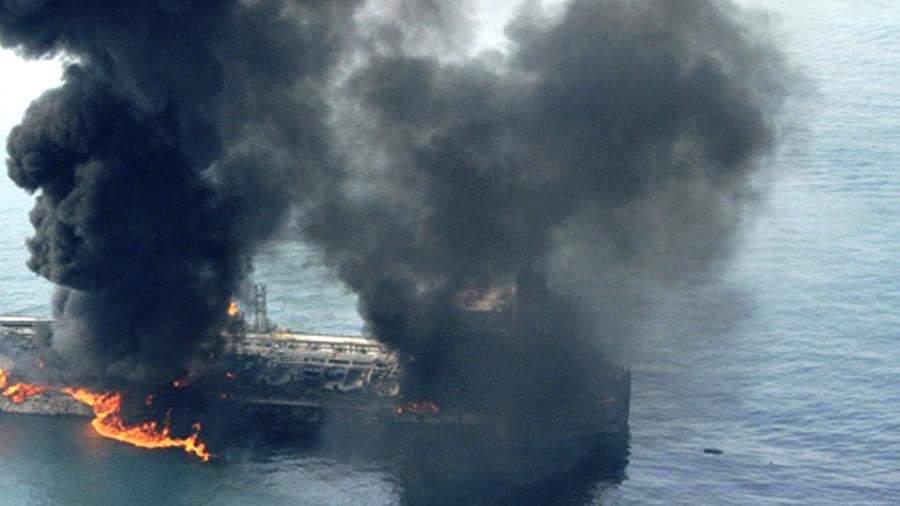 الجيش الأميركي: الحرس الثوري هاجم ناقلات النفط في ميناء الفجيرة