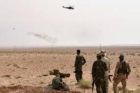 قصف واشتباكات بين الجيش السورى وداعش فى البادية