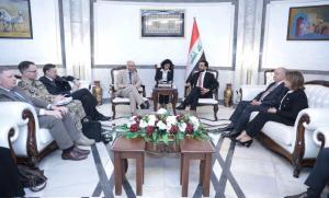 الحلبوسي يدعو المانيا للمساهمة باعادة اعمار المناطق المحررة ودعم الجيش العراقي: قاتلنا نيابة عن العالم