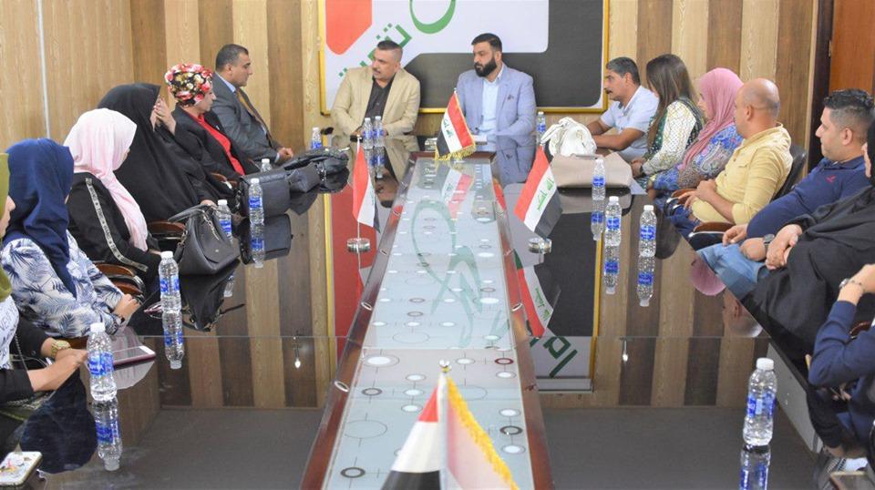 الكربولي يعقد سلسلة لقاءات مع اهالي مناطق متفرقة من بغداد