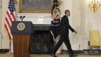طفل رضيع يخترق أمن البيت الأبيض ويؤخر كلمة أوباما حول العراق
