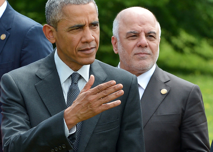 Attitude provoked reactions of a wide and varied - Obama insists on ignoring the Abadi