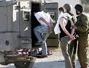 اسرائيل تعتقل  20 فلسطينيا بتهمة الاشتباه فى مشاركتهم فى أعمال مقاومة