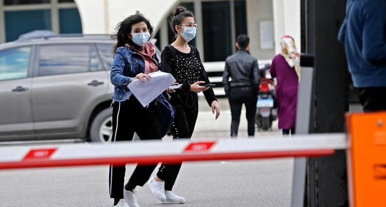لبنان ..  ارتفاع عدد المصابين بكورونا إلى 412