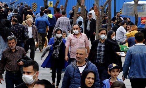 تسجيل 2206 إصابة جديدة بفيروس كورونا في ايران