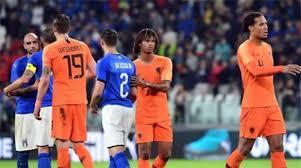 ايطاليا تهزم هولندا بهدف نظيف في دوري الامم الاوروبية