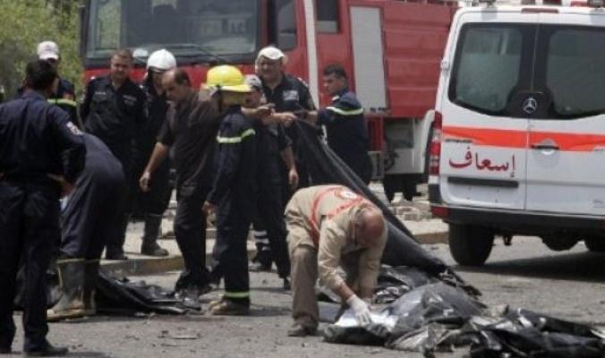 انفجار عبوة ناسفة في دورية امن تصيب 3 عناصر غرب بغداد