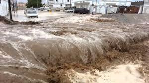 الانواء الجوية تتوقع حدوث سيول في المناطق التي تشهد امطار غزيرة