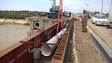 قطع جسر المثنى شمالي العاصمة بغداد، يوم الخميس المقبل