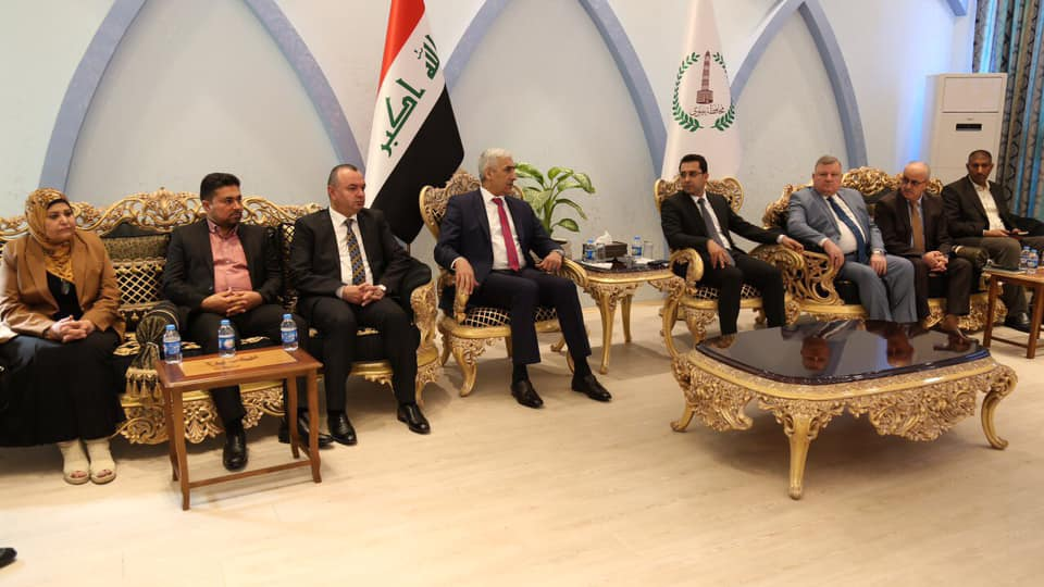 وزير الشباب والرياضة يزور نينوى للوقوف على مطالب شباب وأهالي المحافظة