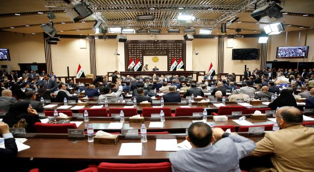 "Tomorrow .. ""Al-Fateh"" meets to present a draft review of the security agreement between Baghdad and Washington in Parliament Image"