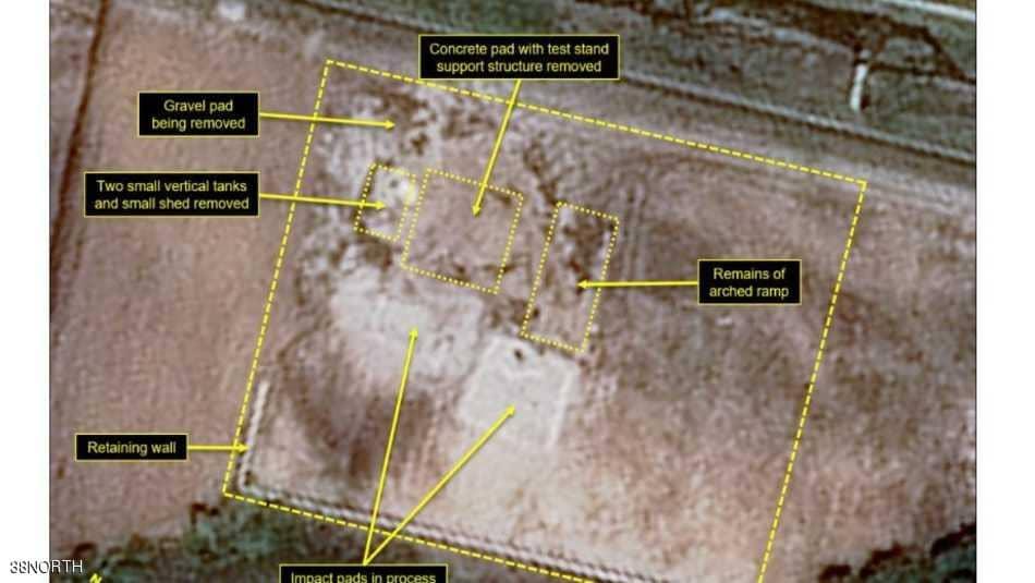 الأقمار الصناعية تكشف مواقع مدمرة بكوريا الشمالية