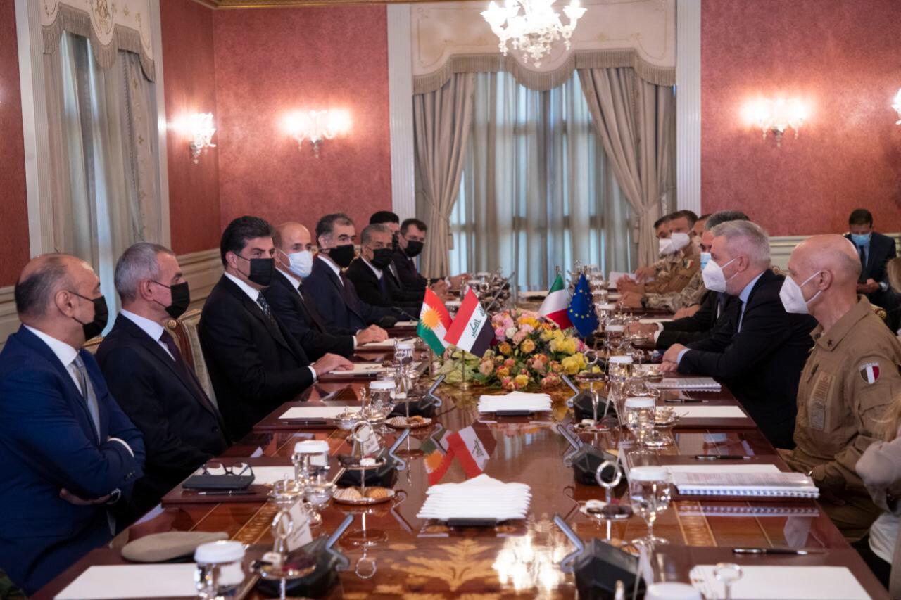 بارزاني: ننظر بقلق للتطورات الامنية واستهداف البعثات الدبلوماسية في العراق