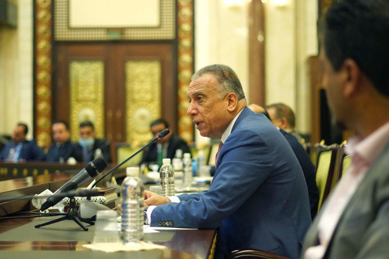 مجلس الوزراء يعقد جلسته برئاسة الكاظمي