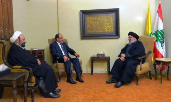 Have you been closing my eyes Maliki while going to meet with Nasrallah