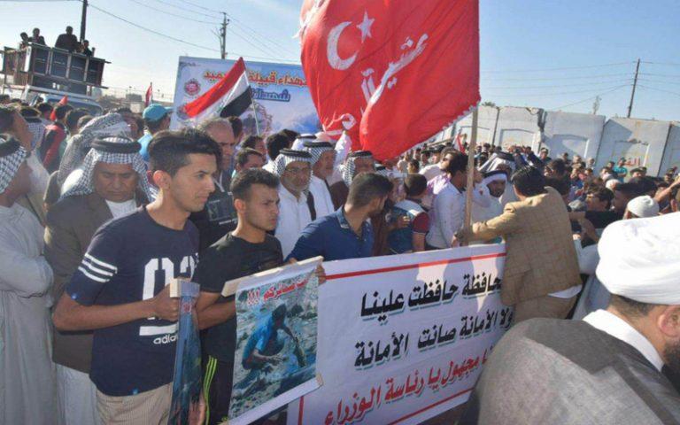 العشرات يتظاهرون في الفضيلية وسبع البور للمطالبة بالخدمات