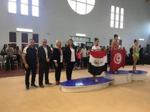 وزير الشباب والرياضة يبارك انجازات منتخب الجمناستك في بطولة العرب